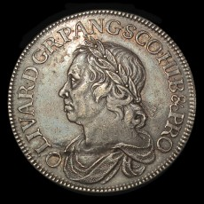 Cromwell crown obverse