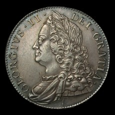 George III crown obverse